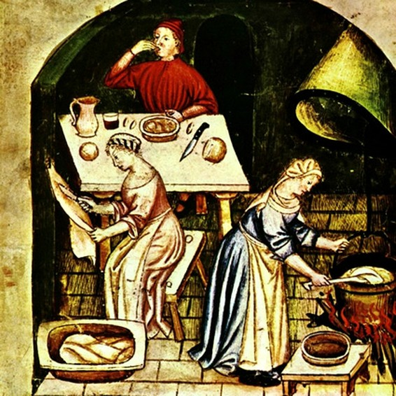 La cucina asdps armis et leo for Case che sembrano castelli