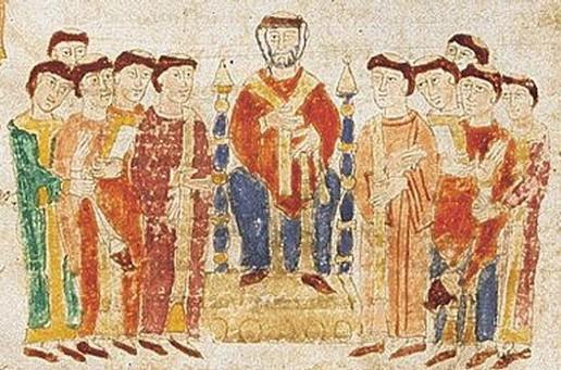 Frà Cipolla e la penna dell'Arcangelo Gabriele. 6.vescovo